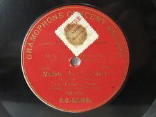 78rpm ENRICO CARUSO - BOITO Mefistofele - RARE RED G&T MILANO 1902