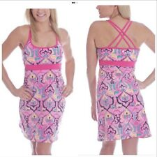 Soybu Pink Henna Athletic Yoga Dress XL