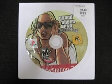 """Grand Theft Auto: San Andreas """"M"""" Version (Sony PlayStation 2, 2005) game only"""