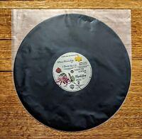 "50 x NEW RECORD VINYL LP 12"" PLASTIC INNER ROUND BOTTOM RECORD SLEEVES AUS MADE"
