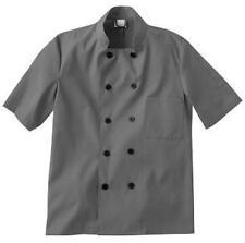 Five Star Unisex Chef Coat Granite (Charcoal) 18025-1004 Apparel