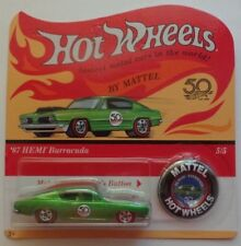 2018 Hot Wheels 50th ANNIVERSARY REDLINES '67 Hemi Barracuda 5/5 (Unpunched)