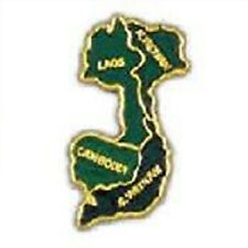 Metal Lapel Pin Vietnam Pins Proud to Serve Pin Map Of South East Asia New