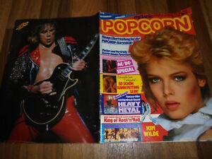 MELANIE POPCORN # 1 / 1982 -- SHAKIN STEVENS-STYX-MOTÖRHEAD-TOYAH WILLCOX-ROD ST