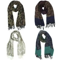 Croft & Barrow Paisley Scarf with Fringed Ends for Women - 64 inches