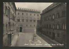AD9560 Siena - Città - Piazza Salimbeni - Sede del Monte dei Paschi