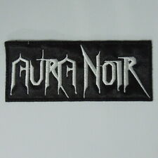 AURA NOIR Band Logo (Embroidered Small Patch) (NEW)