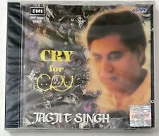 CRY for CRY JAGJIT SINGH CD EMI RPG Made in ENGLAND GHAZALS RARE OOP NEW SEALED