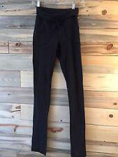 Lululemon  Skinny Will Pants 4 - Heathered Gry Wee Stripe - EUC and HTF