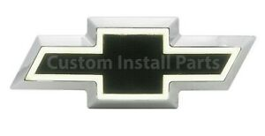 Front White LED Black Emblem Replaces GM 22829420 Fits 07-13 Silverado 2500/3500