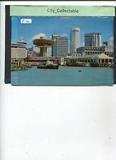 P130 # MALAYSIA USED PICTURE POST CARD * SINGAPORE WATER FRONT
