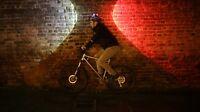 Topside Cycling Bike Helmet Light Front Rear Bike Lights Rechargeable Bike Light