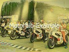 M7409-POSTER ROADRACE,SHEENE,ROBERTS,VILLA,TRANSATLANTIC MOTO GP
