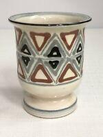 Nils Kahler Pottery Vase/Urn For HAK/Herman Kahler Danish Pottery MCM Denmark