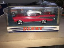 Matchbox Dinky #DY2 - Chevrolet Bel Air 1957 - Red/White - A+/A