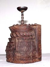 Beautiful Unique Handmade Wooden Candle stand Made From Antique Carved wood #008