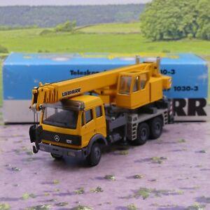 Conrad 3088 Liebherr LTF 1030-3 Crane 1:50 scale diecast good condition boxed