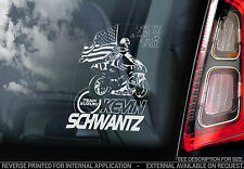 Kevin Schwantz - Car Window Sticker - Motorbike 1993 Champion Motorcycle