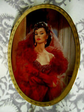 Gone With The Wind Ruby Rebellion Cameo Memories Bradford Exchange L/E Plate