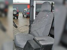 LAND ROVER DEFENDER 110  2007-ON FRONT SEATS WATERPROOF SEAT COVERS SET GREY