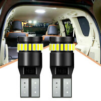 2pcs T10 194 501 W5W SMD 24LED CANBUS Error Free Auto Car Wedge Light Bulb White