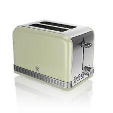 Swan ST19010GN 2 Slice Retro Green Toaster
