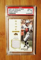 2001 UD Pro & Prospect Game Used Jersey /50 PEYTON MANNING Colts PSA 6