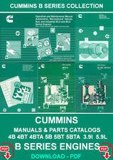 CUMMINS B SERIES 4B 4BT 4BTA 6B 6BT 6BTA 3.9L 5.9L ENGINE SERVICE REPAIR MANUAL