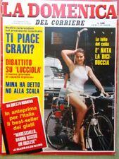 La Domenica del Corriere 6 Agosto 1983 Colli Gaber Calvin Smith Benigni Lucciola