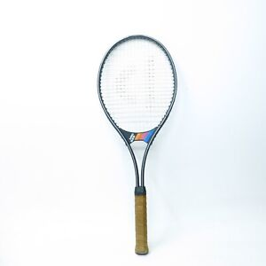 Vtg Donnay Mid 525 Tennis Racket Racquet w/leather Grip 4 1/2
