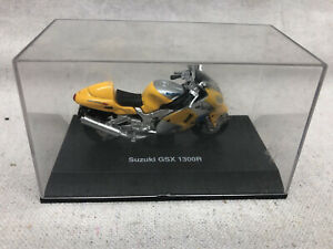 New Ray Suzuki GSX 1300R Motorcycle 1:32 Model With Case