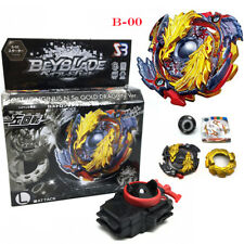 Beyblade Burst B-00 LOST LONGINUS N.SP GOLD DRAGON With Launcher Kids Toys
