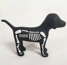Victoria's Secret Pink Halloween Mini Dog Skeleton Collectible Boxed New