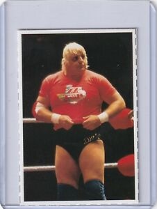 Dusty Rhodes 1981 Gong Wrestlingmagazine card