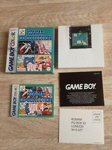 Konami GB Collection  Vol. 4 Nintendo Game Boy Color OVP