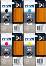 4x Original Epson Patronen 405 XL + 405 WorkForce WF 3820 DWF 7840 DTWF 7835DTWF