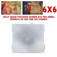 6x6 Camera Split Image Focusing Screen For Zenza Bronica SQ SQA SQB 120 Camera