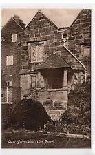 OLD PORCH, EAST GRINSTEAD: Sussex postcard (C11303)