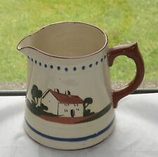 Vintage Dartmouth Pottery Large Motto Jug Holds One and Three Quarter Pints