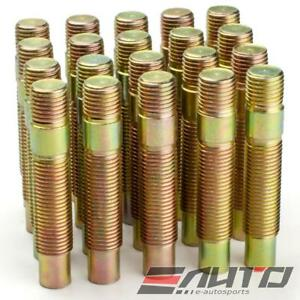 20x 75mm 14x1.5 to 14x1.5 Rim Wheel Conversion Converter Adapter Bolts Studs c