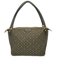 Louis Vuitton Ballad PM M40573 Monogram Idylle Canvas Shoulder Tote Bag Brown