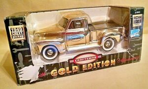 CHEVY PICKUP TRUCK 1949 BANK CRAFTSMAN TOOLS 50TH ANNIV 2000 GOLD ED 948633 NEW.