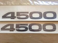 Genuine OEM Toyota Land Cruiser LX450 4500 Decal 80 series- PAIR