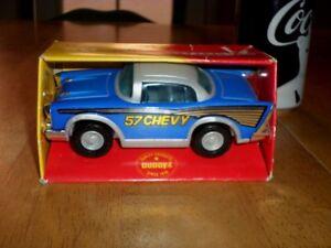 Buddy L Toy -- '57 Chevy Car, Pressed Steel / Plastic TOY CAR, VINTAGE [ NIB ]