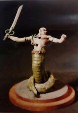 90 mm homme-serpent (métal blanc)