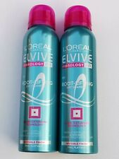 2 x 150ml L'OREAL ELVIVE FIBROLOGY Root-Lifting DRY SHAMPOO For Fine Hair *NEW*