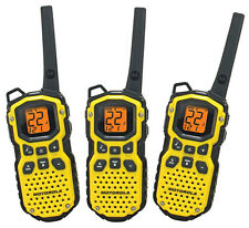 3 Motorola Talkabout MS350AA FRS GMRS 2-WAY Radios Walkie Talkie WATERPROOF