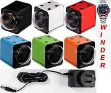 BOXY Brand Fancy Brick Single Automatic Watch Winder-model: 1FB-F -BRILLIANT!