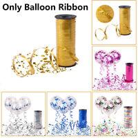 mariage de décoration des cadeaux. de la soie curling ballon, ruban roll