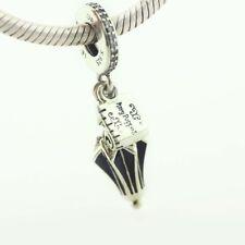 Hermosa Mariposa De Plata Clip encanto Para Pulseras-tibetian Silver-Nuevo